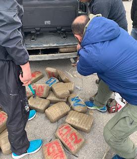 Συνελήφθη 32χρονος με πάνω από 43 κιλά ακατέργαστης κάνναβης
