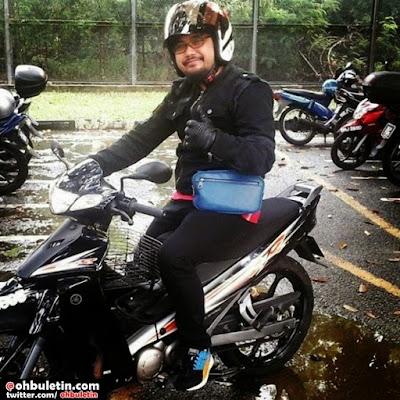 motor johan, gambar motor johan raja lawak dicuri