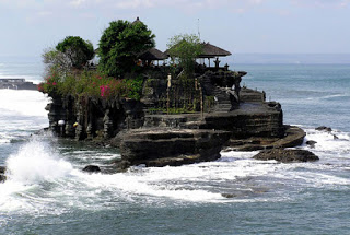 All About Bali Holy Snake Cave Tour Tanah Lot