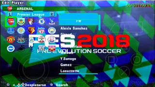 Download PES ARMY 2017 Mod ( PES 2018 ISO PSP ) By Reza Kurniawan