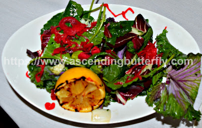 Baby Kale Tricolore Salad