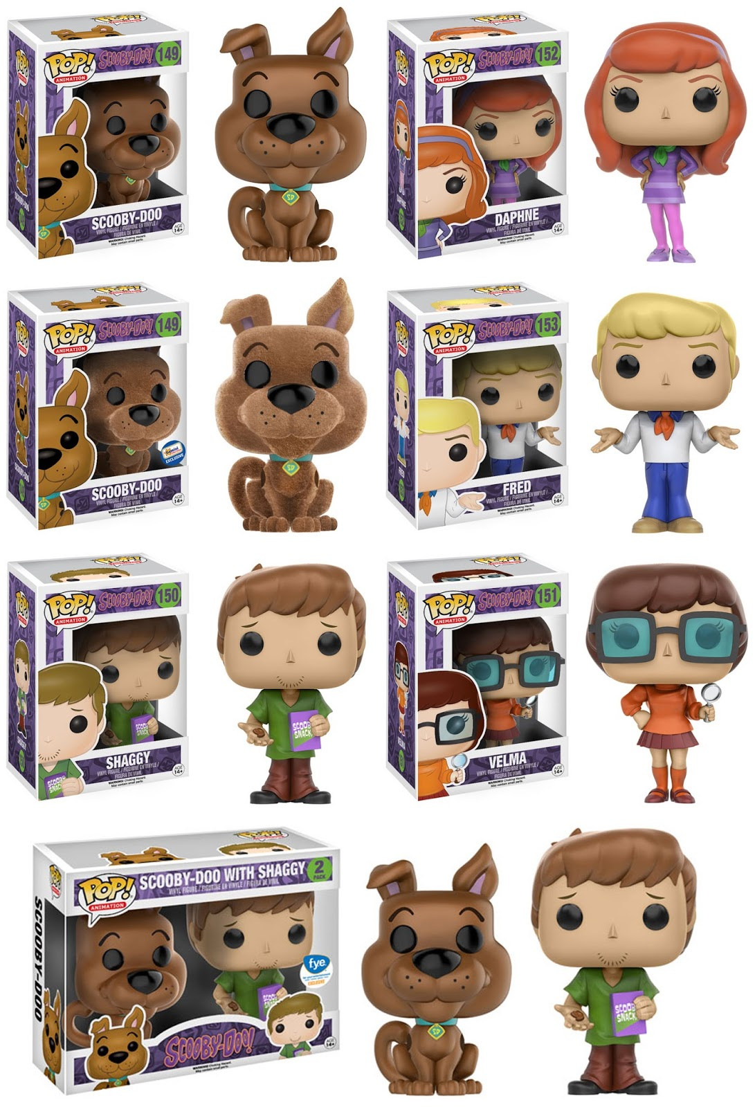 d03fe3a4effb5 Collecting Toyz  Funko Announces Scooby Doo   Street Fighter POP ...