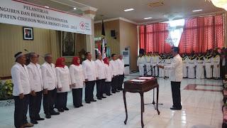 Heviana Pimpin PMI Kab Cirebon