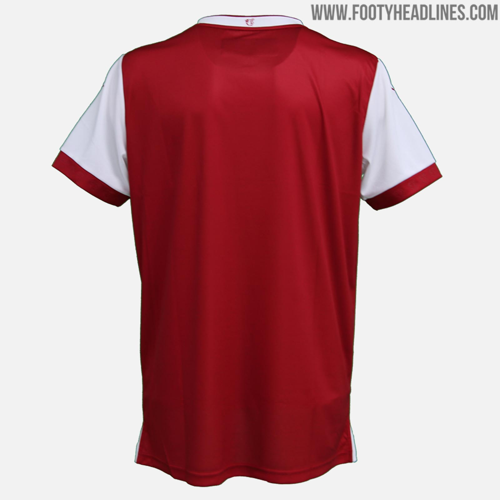 2dc8d9b8910 The Kaiserslautern 2018-19 jersey introduces a classic look in red with a  centered stripe. It features a yellow star with the number 4 above the club  crest ...