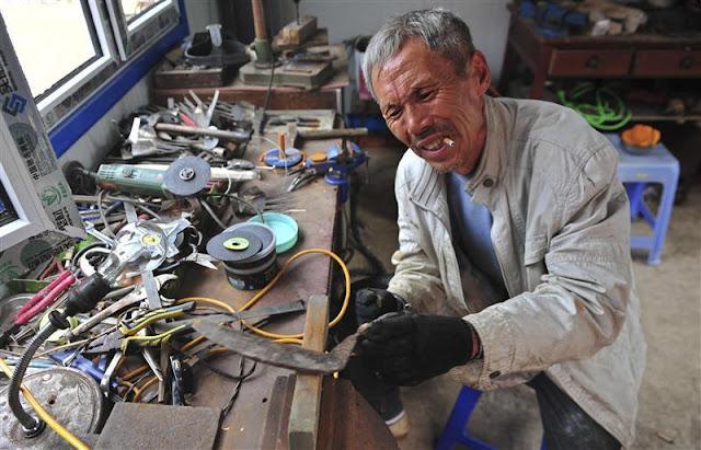 5 Orang Jenius Yang Dapat Menciptakan Peralatan Hebat Dari Barang Buangan