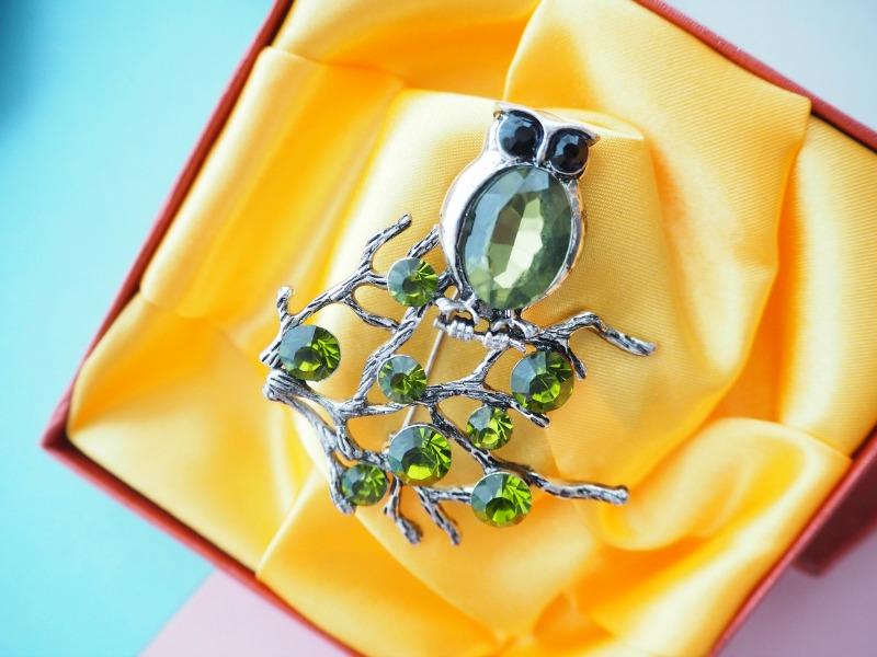IZPROJECT owl brooch