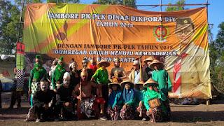 Jambore PK-PLK Dinas Dikpora DIY Tahun 2018