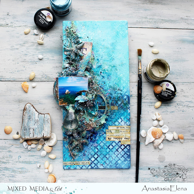 @nastyalena #canvas #mixedmedia