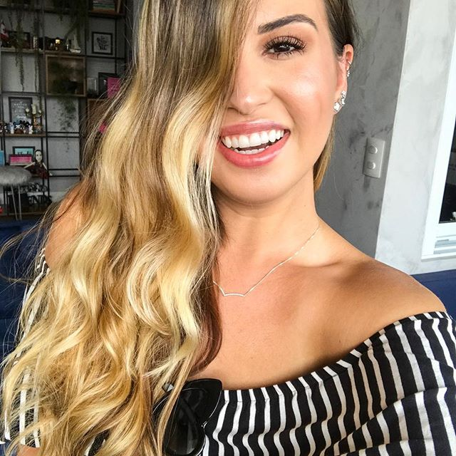 Inspiração de cabelos com luzes blog Kimberly Bueno