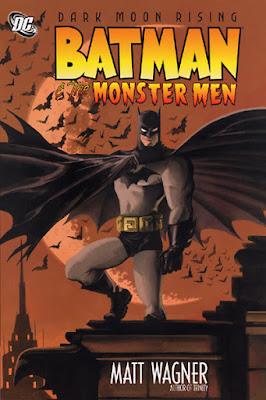 Batman y los hombres monstruo - Portada