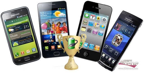Qual smartphone tem bateria com maior duração?