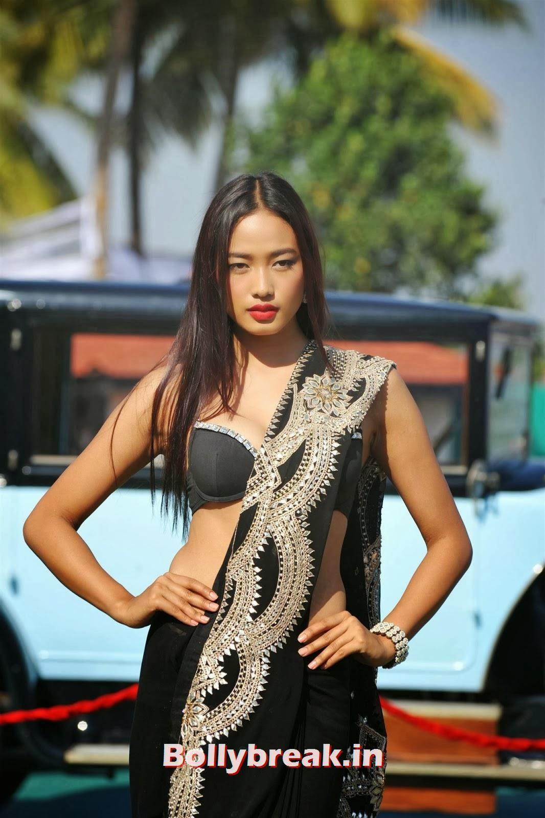 Ketho Leno Kense, Full Set : Super Hot Models at Kingfisher Calendar Launch In Alibaug Mumbai