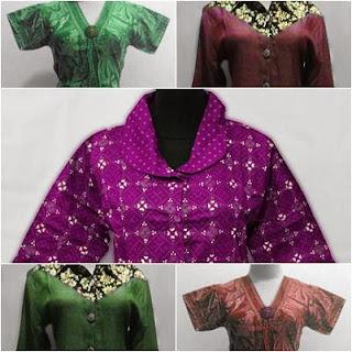 Model Baju Batik Untuk Wanita Model Baju Batik Kerja Wanita Terbaru