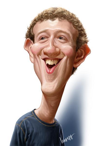 Mark Zuckerberg por Mahesh Nambiar
