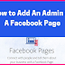 Add Admins to Facebook Page