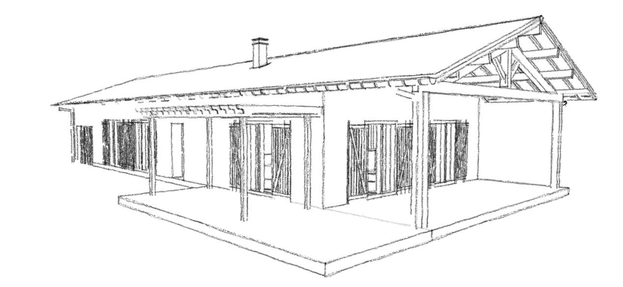 Plan de maison plain pied 3 chambres avec garage for Plan de maison traditionnelle gratuit
