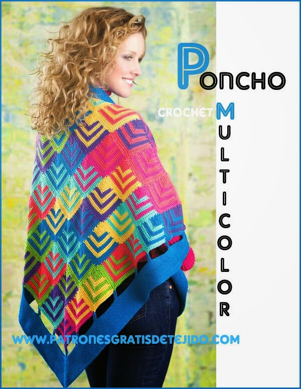patrones-poncho-con-motivo-geometrico