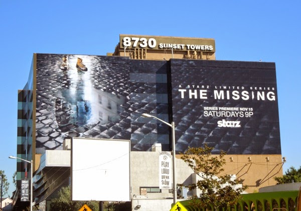 The Missing limited series TV billboard