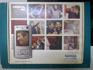 Dus Nokia N80 Seken