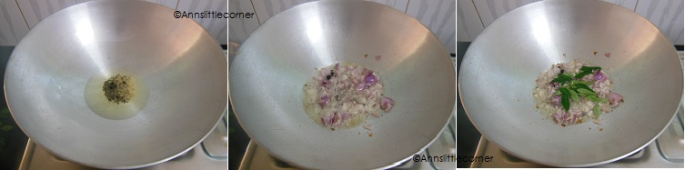 How to make Palakottai Poriyal  - Step 3