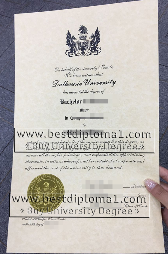 Dalhousie bachelor's diploma in Canada