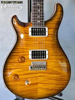 jerry 39 s lefty guitars newest guitar arrivals updated weekly prs custom 22 amber black left. Black Bedroom Furniture Sets. Home Design Ideas