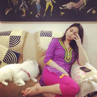 ashna habib bhabna hot sleeping