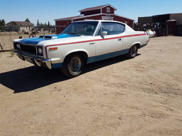 Rare 1970 AMC Rebel Machine