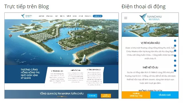 BĐS dự án căn hộ Tuần Châu Marina