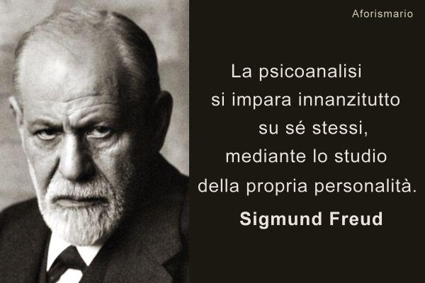 Frasi Sigmund Freud Sulla Psicoanalisi