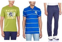 Flat 50% Off on Puma, Reebok, Adidas Men's Clothing @ Amazon