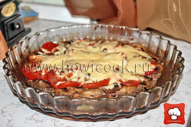 рецепт мясной пиццы