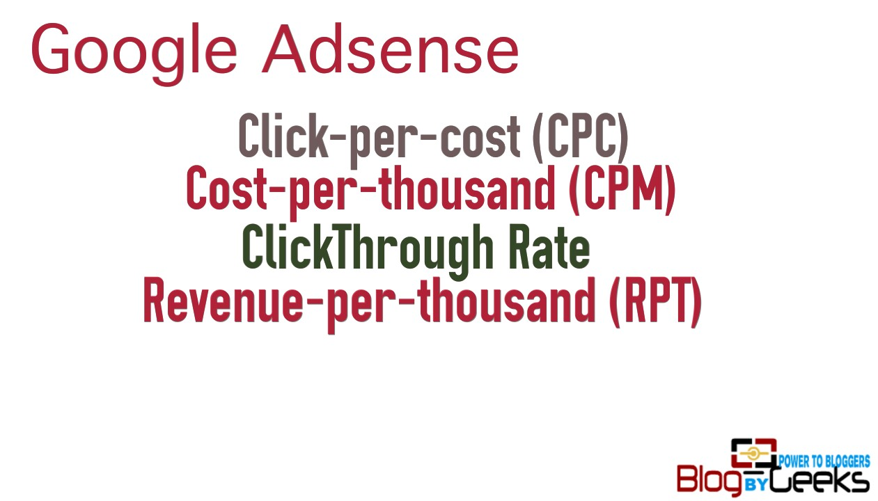 Image result for google adsense revenue cpc ,cpm