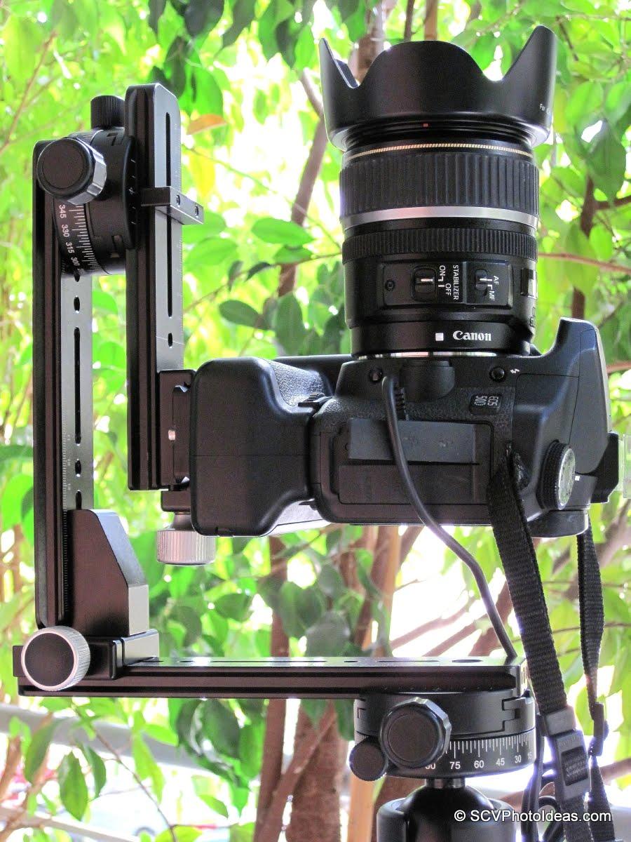 Camera at zenith shooting position detail