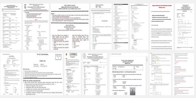 Contoh Soal Latihan Ujian Semester Ganjil 2016/2017