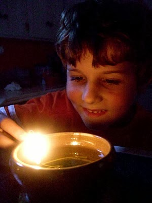 Make an Olive Oil Lamp