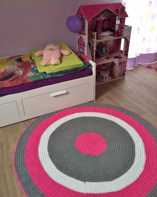 Dywan dla Mai /  Maya's crochet rug