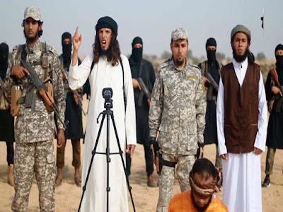 لقطة من فيديو داعش