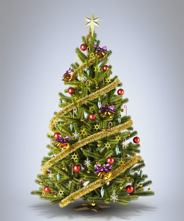 Christmas Tress: Christmas Wallpapers And Images And Photos: 3d Christmas