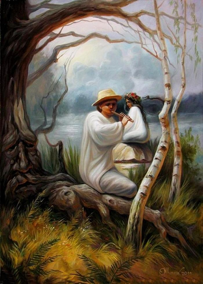 Tocando Flauta Oleg Shuplyak - Incríveis ilusões