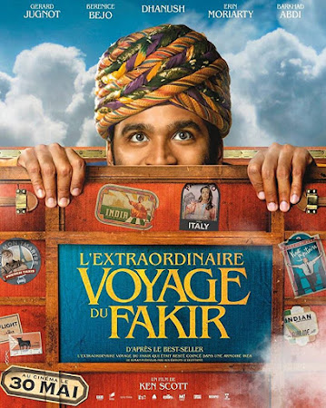 Poster Of Hollywood Film Watch Online The Extraordinary Journey of the Fakir 2018 Full Movie Download Free Watch Online 300MB