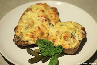 """Rezept: """"Resteverwertung"""" - Pizzabrötchen - schnell und einfach! - www.annitschkasblog.de"""