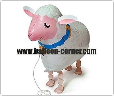 Balon Foil Airwalker Domba
