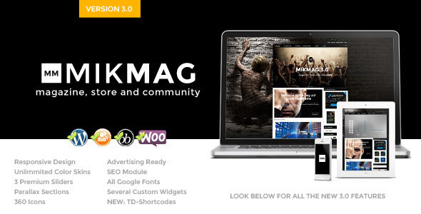 Free Download MikMag V3.4.2 Responsive, Buddypress and Woocommerce Theme