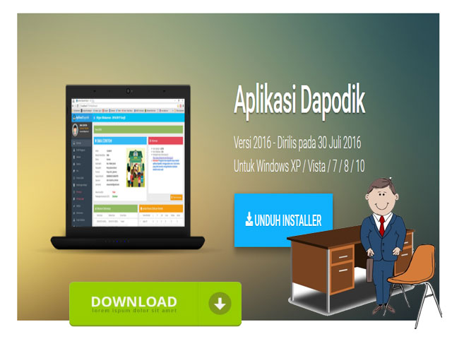 Download Installer Aplikasi Dapodik Generasi 5 Tahun 2016/2017