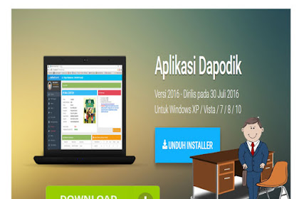 Unduh Installer Apliaksi Dapodik Versi 2016
