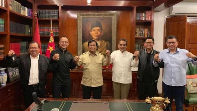 Bertemu Prabowo, Sekjen Parpol Koalisi Adil Makmur Pastikan Solid