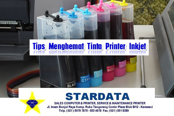Tips Cara Menghemat Tinta Printer Inkjet