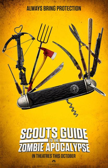 Scouts guide to zombie apocalypse poster