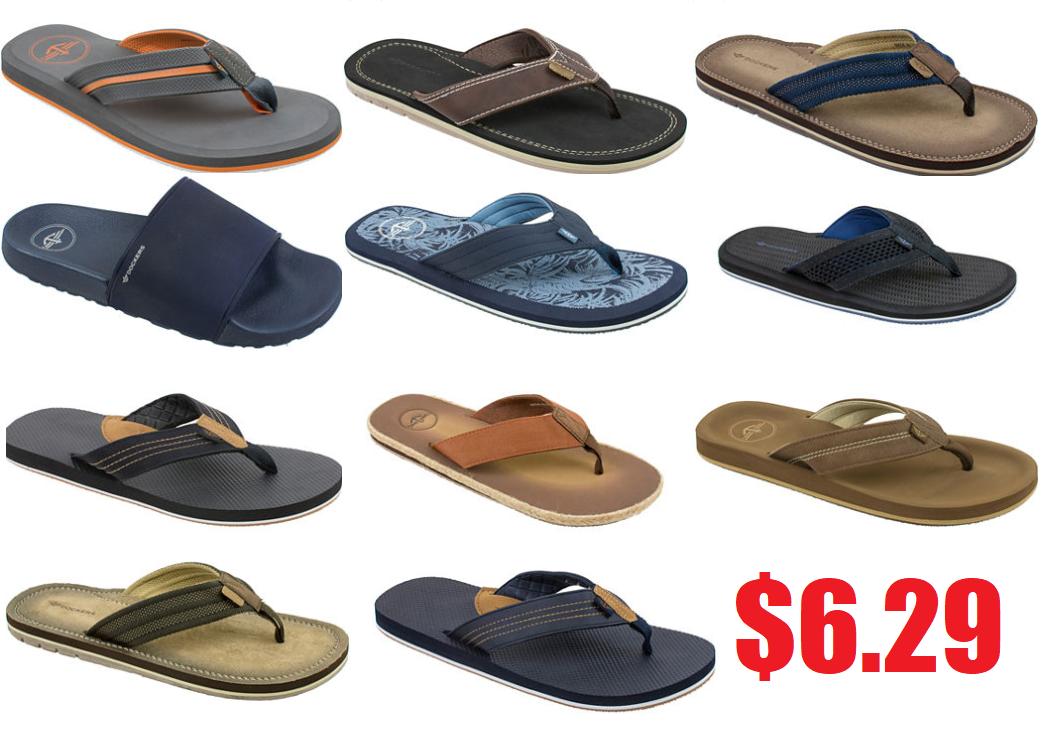 c48f92821616 Dockers Men s Flip-Flop or Slide Sandals  6.29 + Free Pickup at JCPenney